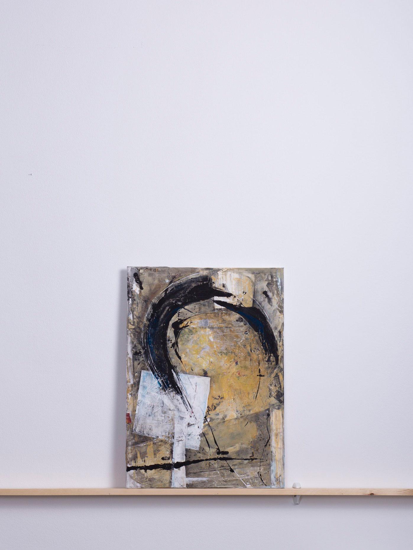 Celinette, 2005 - 50x70 cm, Acryl auf Leinwand