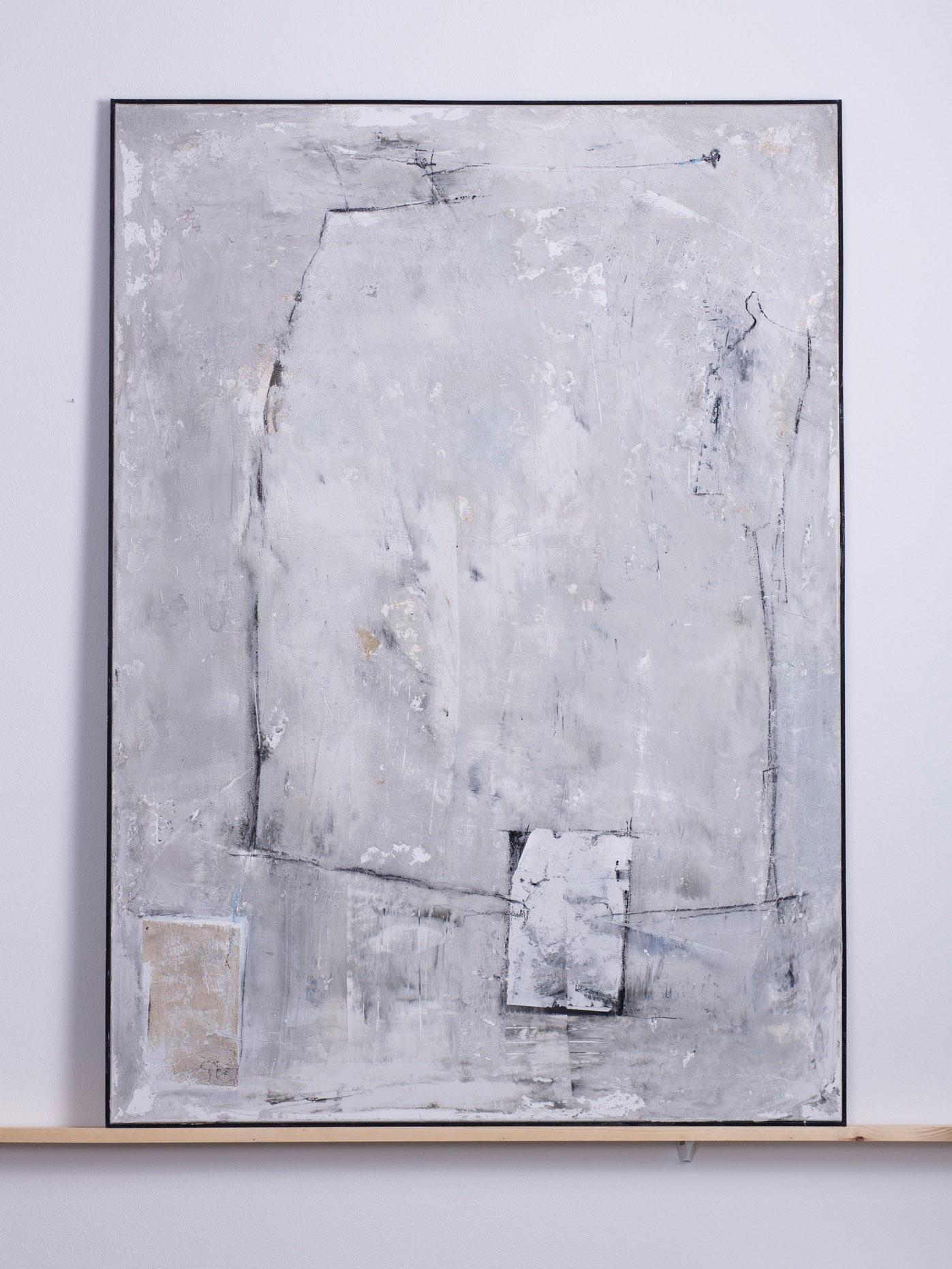 Ka-Rakum, 2011 - 100x140 cm, <br>Acryl, Spachtel und Kohle auf Leinwand