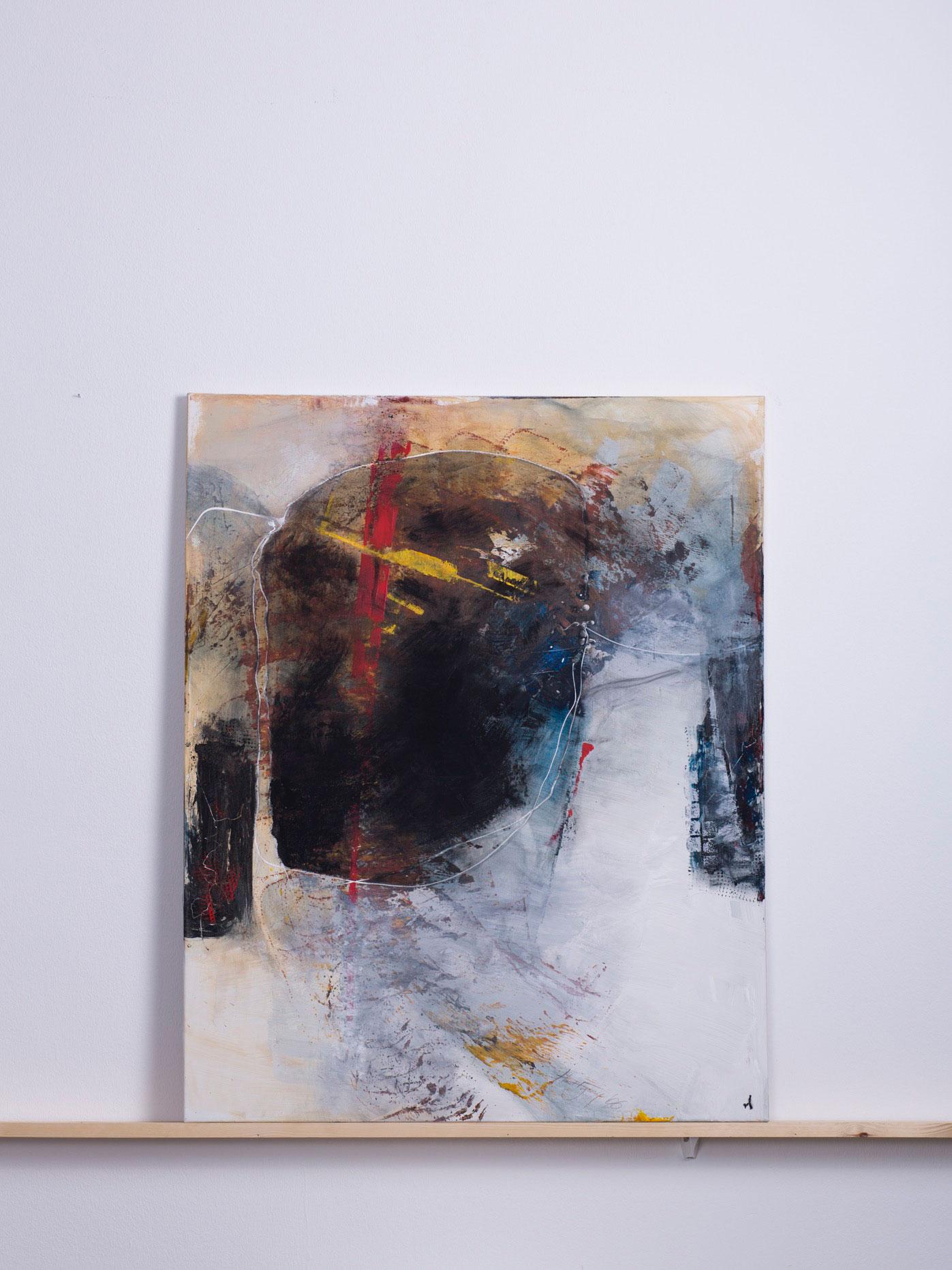 Noberatus, 2006 - 80x100 cm, <br>Acryl auf Leinwand
